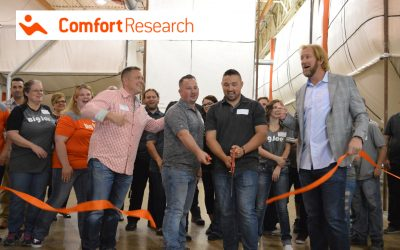 Comfort Research West Ribbon Cutting