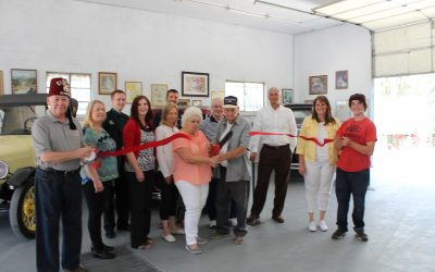 Yesterday's Treasures & Old Car Museum Ribbon Cutting