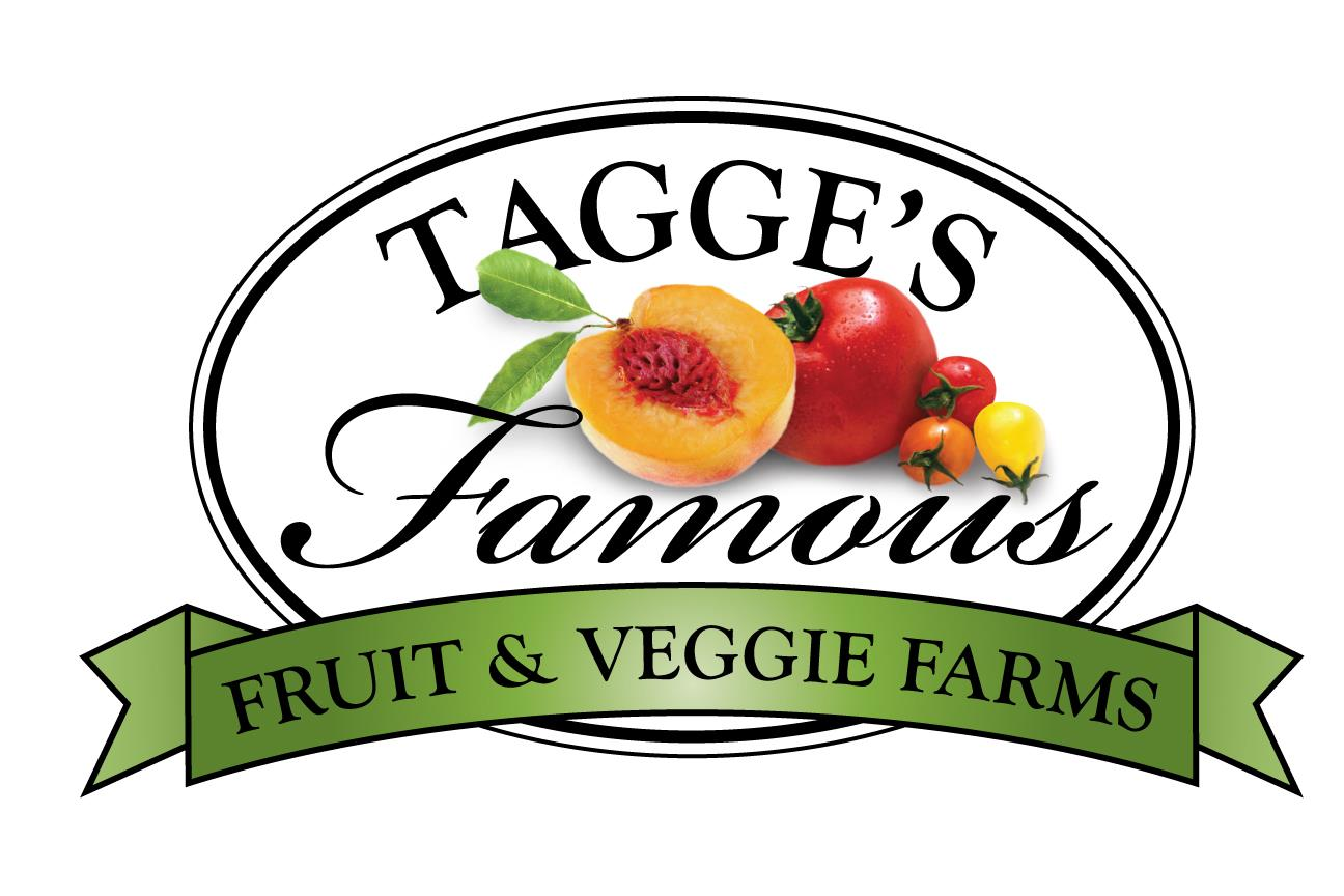 Tagge's Famous Fruit & Veggie Farms Logo