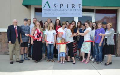 Aspire Performance Academy of the Arts Ribbon Cutting
