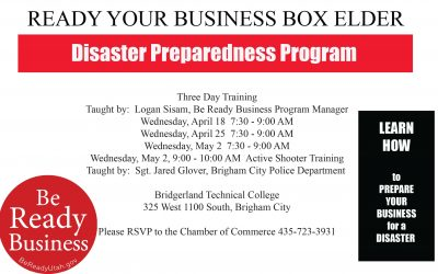 Be Ready Business Sessions Scheduled